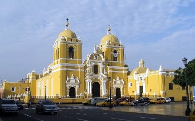 Cathédrale de Trujillo au Pérou