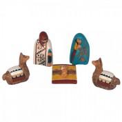 La crèche péruvienne, une idée originale de décoration de noël