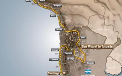 Parcours Dakar 2013