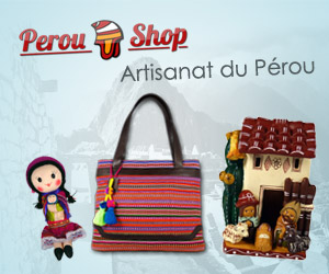 Bannière Pérou Shop